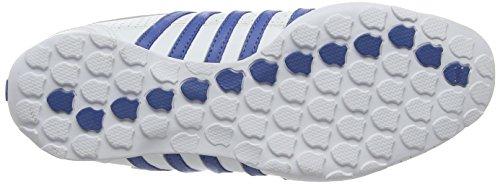 K-Swiss Arvee 1.5 Perf - Zapatillas Hombre Blanco - Weiß (White/Brunner Blue/Gull Gray)