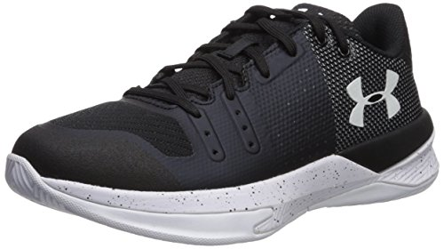 Image of Under Armour Women's Block City Volleyball Shoe, (010)/Black, 7