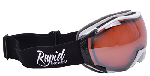 2a81298359 Rapid Eyewear Edmonton Skiing   Snowboarding Goggles Double Lens Anti Fog.  UV 400 Protection.