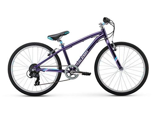 RALEIGH Bikes Girls Alysa 24 Urban Fitness Bike, 24'/One Size, Purple