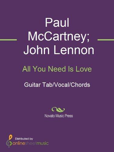 All You Need Is Love - Kindle edition by John Lennon, Paul McCartney ...