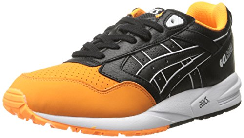 ASICS Men's GEL Saga Retro Running Shoe, Orange Pop/Black, 11 M ()