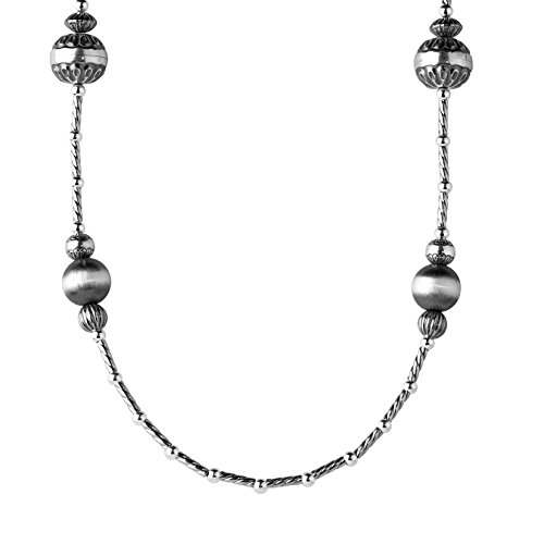 american-west-sterling-silver-stamped-beaded-necklace