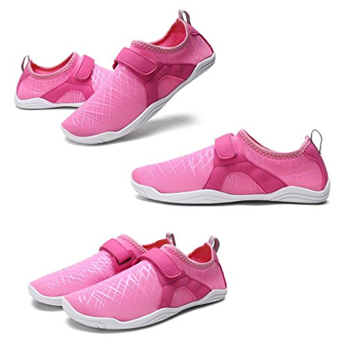 Shoes Swim YiyiLai Water Walking Beach Socks Aqua Pink Unisex Yoga Barefoot UOwxqE0Fw