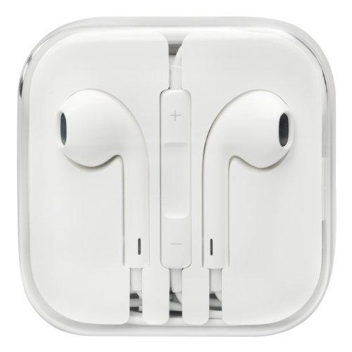 Apple EarPods mit Fernbedienung und Mikrofon - iPhone 3Gs, iPhone 4, iPhone 4s, iPhone 5, iPhone 5c, iPhone 5s, iPhone 6, iPhone 6 Plus - bulk Verpackung
