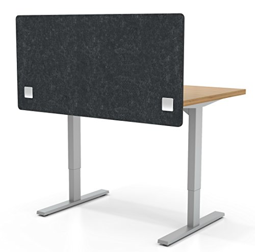 VaRoom Acoustic Partition, Sound Absorbing Desk Divider - 48