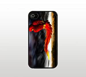 lintao diy Abstract Bird Snap-On Case for Apple iPhone 5 - Hard Plastic - Black - Cool Custom Cover