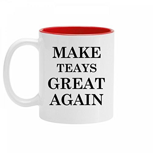 Make Teays Great Again Pride  11Oz Two Tone Ceramic Coffee Mug