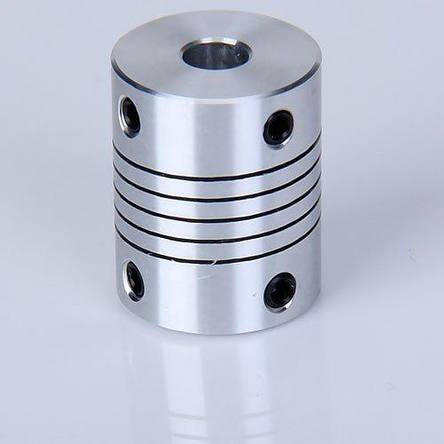 Sodial r stepper motor flexible shaft coupling coupler 6 for Stepper motor shaft coupling coupler