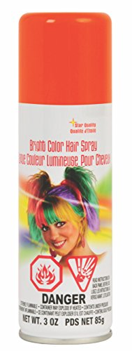Rubie's Bright Color Hairspray, Orange