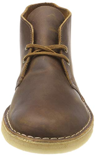 Uomo Boot Marrone Clarks Desert Polacchine Originals Leather beeswax IwTn1Oq8Ox