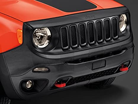 Jeep Renegade Front End Cover/Bra Black w/Jeep Logo by Jeep: Amazon.es: Coche y moto