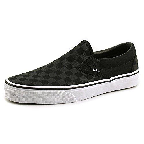 Vans Unisex Skate Checkerboard Checkerboard Shoe On Slip Classic black Black qSPqxrwd