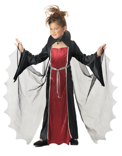California Costumes Toys Vampire Girl, Medium - Halloween Costume For 11 Year Girl