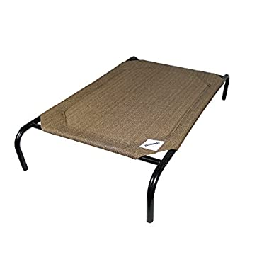 Coolaroo Elevated Pet Bed Medium Nutmeg