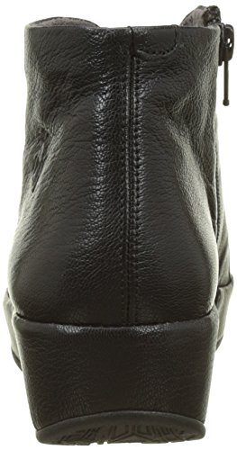 para Fly London Negro Black Brio784fly Botas Mujer wtzrvt4q