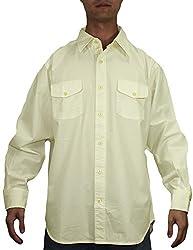 Tommy Bahama Mens Summer / Light Weight Island Shirt M Beige