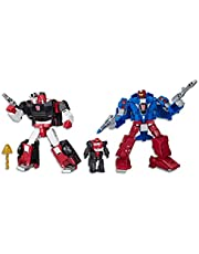 "TRANSFORMERS Generations War For Cybertron Siege - Autobot Alphastrike Counterforce 3 Pack Deluxe Class 5.5"" Figures - Final Strike Figure Series : Part 1 - Kids Toys - Ages 8+"