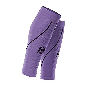 CEP Men's Progressive+ Compression Calf Sleeves 2.0 for Running, Cross Training, Fitness, Calf Injuries, Shin Splits, Recovery, and Athletics, 20-30mmHg Compression, Purple, Size 4