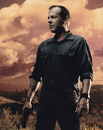 Kiefer Sutherland In-person Autographed Photo Jack Bauer 24 from Sign Here Autographs