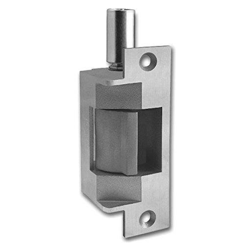 HES 18311572 712 75 Latchbolt and Locking Cam Monitor Electric Strike Bright Stainless Steel 24 V DC