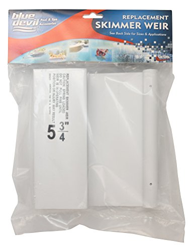 Blue Devil B8529 Skimmer Weir Replacement, Fas-100 & Olympic, (Fas 100 Skimmer)