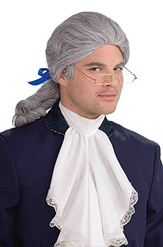Forum Novelties Historical Wig, Grey, One Size -