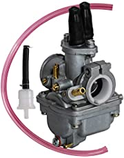 SaferCCTV Carburetor Replacement for Yamaha PW80 PW 80 Y Zinger Dirt Bike 1983 1984 1985 1986 1987 1988 1989 1990 1991 1992 1993 1994 1995 1996 1997 1998 1999 2000 2001 2002 2003 2004 2005 2006