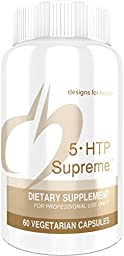 Designs for Health - 5-HTP Supreme 100mg, 60 Vegetarian Capsules