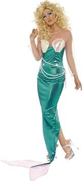 Desconocido Disfraz de sirena para mujer: Amazon.es: Juguetes y ...