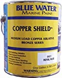 Blue Water Marine Paint Copper Shield™ Ablative, Royal Blue, Quart 8601Q