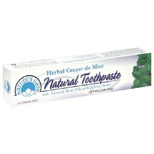 Toothpaste Herbal Creme De Mint (Nature's Gate Natural Toothpaste, Herbal Creme de Mint, 3 Ounce (85 g))