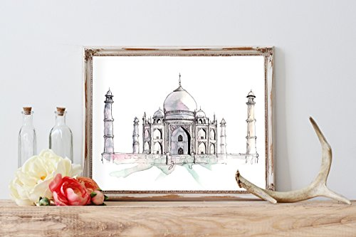 watercolor-taj-mahal-home-print-wall-decor