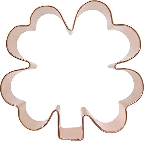 CopperGifts: Clover Cookie Cutter (4 inch)