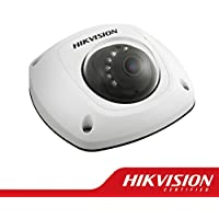 Hikvision DS-2CD2532F-IS Mini Dome Network Camera 3MP, Full HD 2048X1536, 4mm Lens, IP66 Weatherproof, IR LEDs Up to 10 Meters, Micro SDCard Slot / IP, H.264/MJPEG, True Day/Night, Digital WDR, 3D DNR