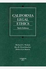 California Legal Ethics (American Casebook) Paperback