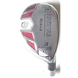 New Integra I-Drive Hybrid Golf Club #3-19° Right-Handed With Graphite Shaft, U Pick Flex