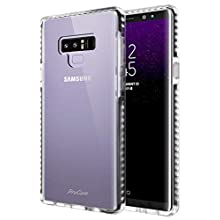 ProCase Clear Case for Galaxy Note 9, Slim Hybrid Clear TPU Transparent Scratch Resistant Rugged Protective Cover Galaxy Note 9 Case -Clear