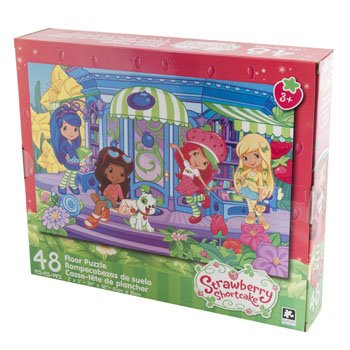 Floor Puzzle 48pcs Strawberry Shortcake Size 24 X ()