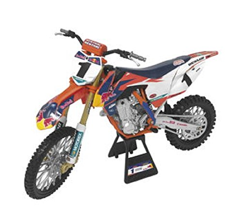 Orange Cycle Parts Die-Cast Replica Toy 1:10 Scale Model Red Bull 450SX-F Ryan Dungey