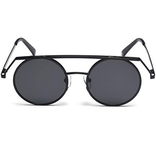 4b3d3c13db Konalla Personalized Metal Frame Round Lenses UV Protective Sunglasses  high-quality
