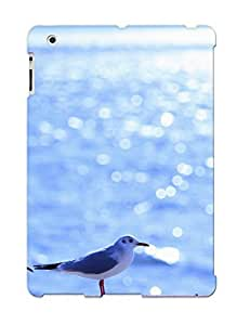 Anettewixom High Quality Gulls Birds Sea Waves Reflections Light Sun Summer Shine Ocean Sea Water Case For Ipad 2/3/4 / Perfect Case For Lovers