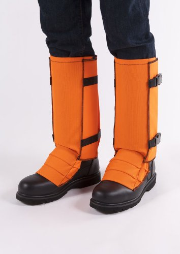 Crackshot Snake Guardz Socks ,2X, Blaze Orange