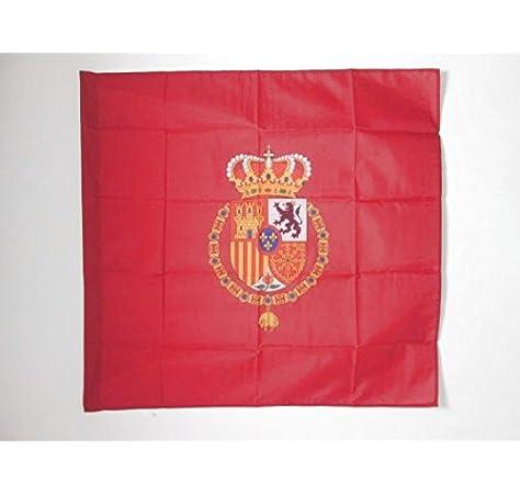 AZ FLAG Bandera del ESTANDARTE del Rey Felipe Vi DE ESPAÑA 90x90cm para Palo - Bandera Real DE ESPAÑA 90 x 90 cm: Amazon.es: Hogar
