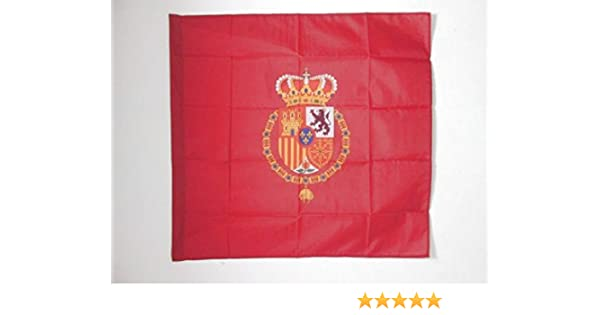 AZ FLAG Bandera del ESTANDARTE del Rey Felipe Vi DE ESPAÑA 90x90cm ...