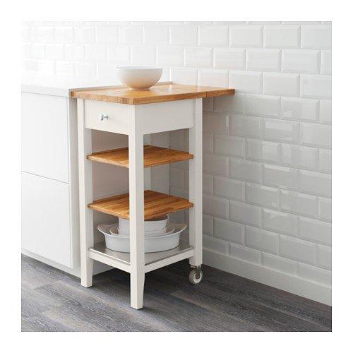IKEA STENSTORP - Cocina carro, blanco, roble - 45x43x90 cm: Amazon.es: Hogar