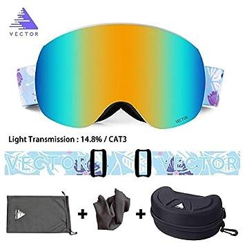 Característica Correa de impresión Gafas de esquí Gafas de Nieve ...
