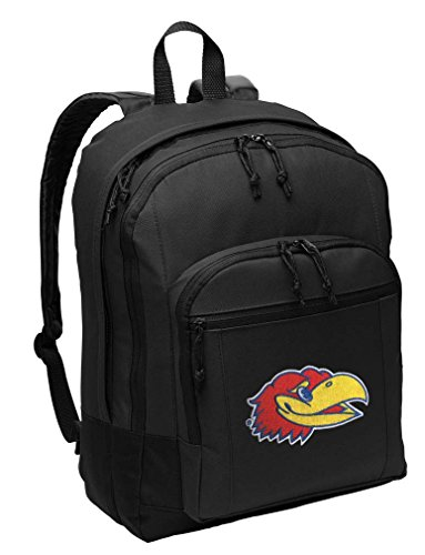 University of Kansas Backpack CLASSIC STYLE Kansas Jayhawks Backpack Laptop Sleeve (Kansas Jayhawks Backpack)