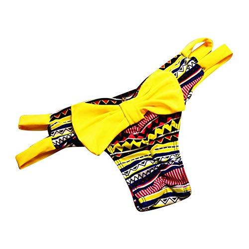 80% AUS Emmay Bikini Slip Damen Niedrige Mini Wesentlich Taille Bikinihosen Einfarbig Bogen Badeshorts Schwimmen Bikinihose Bottom S M L A5 nllCYSfo