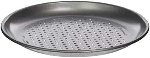 Cuisinart CMBM-4PP 4 Piece Pizza Pan Set, Mini, Steel Gray